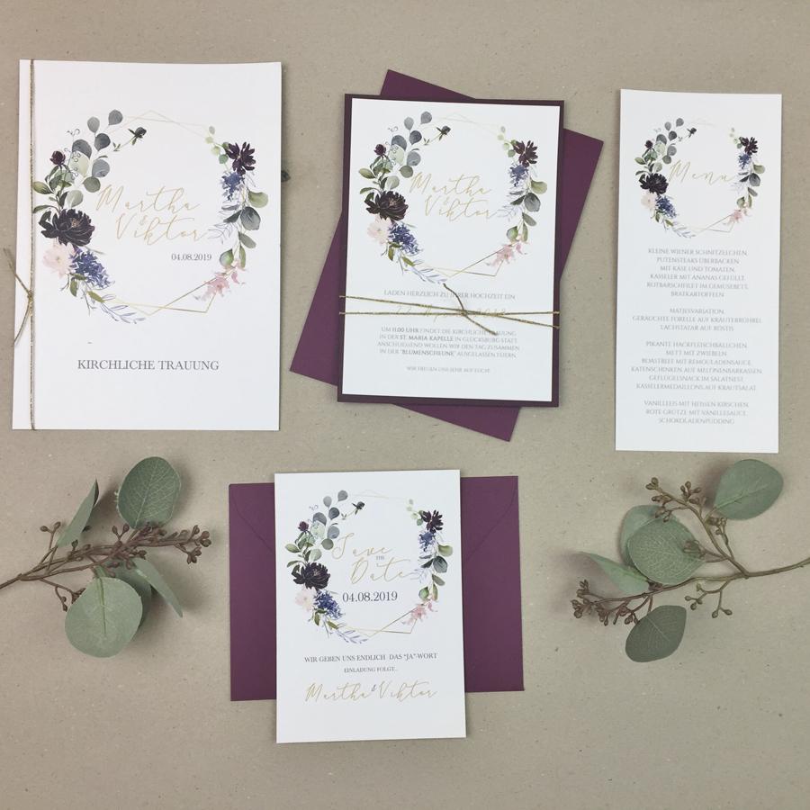 Serie 41 I Eukalyptus & Bordeaux