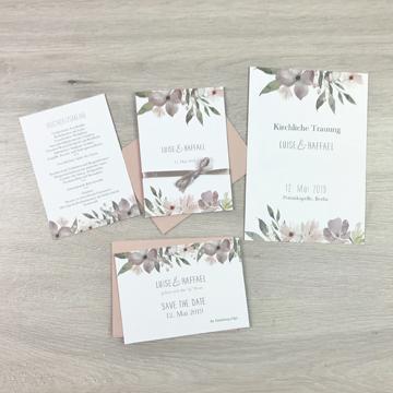 Serie 27 I Blush Pink - Blumen Pastell