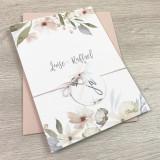 Einladung - Blumen Pastell 2