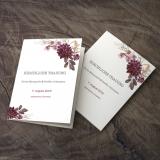 Deckblatt Kirchenheft - Vintage/Blumen VIII