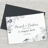 Save the Date Karte - Serie 30 - A6 mit Briefumschlag