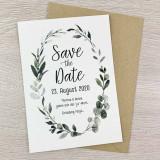 Save the Date Karte - Serie 45 - A6 mit Briefumschlag