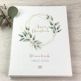 Stammbuch - Blätterkranz