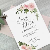 Save the Date Karte - Serie 50 - A6 mit Briefumschlag