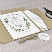 Einladung - Natur Pocketkarte - Serie 45a