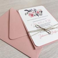 Einladung - Vintage/Boho/Pocket/2018/Serie 4