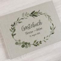 Gästebuch Klassisch - Serie 45 Leinen