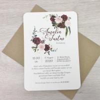 Einladung - Boho & Kraftpapier