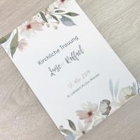 Deckblatt Kirchenheft - Blumen Pastell 2