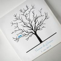 Wedding-Tree Leinwand - verschiedene Größen