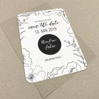 Save the Date Karte - Serie 32 - A6 mit Briefumschlag