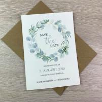Save the Date Karte - Serie 55 - A6 mit Briefumschlag