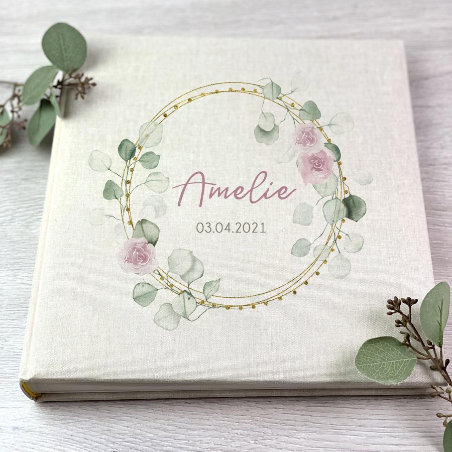"Fotoalbum - Kranz ""Amelie"" - Beige"