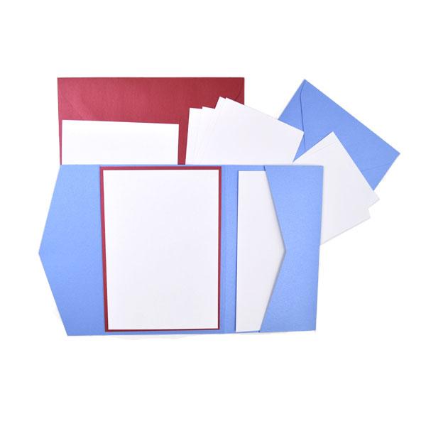 Muster Pocketfold-Set (Retangolo)