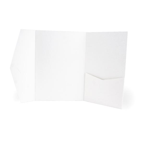 Signature Pocket Weiß